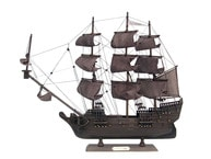 Wooden Flying Dutchman Model Pirate Ship 20