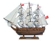 Wooden HMS Bounty Tall Model Ship 15