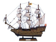 Wooden San Felipe Tall Model Ship 14