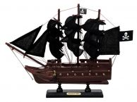 Wooden Captain Kidds Adventure Galley Black Sails Model Pirate Ship 12