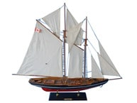Wooden Bluenose 2 Model Sailboat Decoration 35