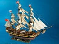 HMS Leopard Limited Tall Model Ship 36