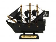 Black Pearl Pirates of the Caribbean Pirate Ship Model Christmas Ornament 4