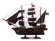 Wooden Blackbeards Queen Annes Revenge Model Pirate Ship 15
