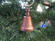 Antique Copper Bell Christmas Ornament 4