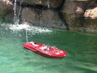 Ready To Run Remote Control Aquarama Model Speed Boat 18