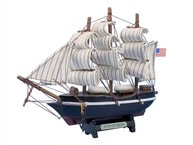Wooden Star of India Tall Model Ship 7