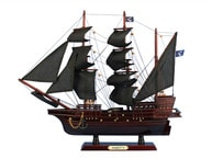 Wooden Thomas Tews Amity Model Pirate Ship 20