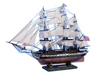 USS Constitution Tall Model Ship 30