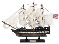 Wooden USS Constitution Limited Tall Ship Model 12