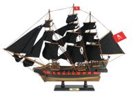 Wooden Henry Averys Fancy Black Sails Limited Model Pirate Ship 26