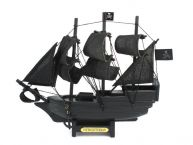 Wooden Flying Dutchman Model Pirate Ship 7