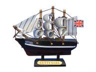 Wooden Cutty Sark Tall Model Clipper Ship 4